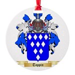 Toppin Round Ornament