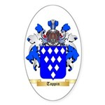 Toppin Sticker (Oval 10 pk)