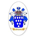Toppin Sticker (Oval 50 pk)