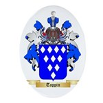 Toppin Oval Ornament