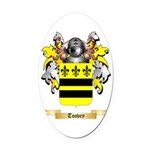 Toovey Oval Car Magnet