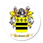 Toovey Round Car Magnet