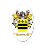 Toovey 35x21 Oval Wall Decal