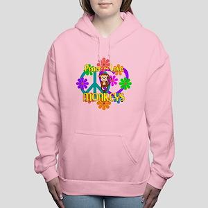 Peace Love Monkey Sweatshirt