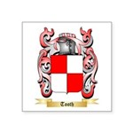 Tooth Square Sticker 3