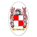 Tooth Sticker (Oval 10 pk)