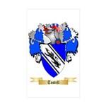 Tootell Sticker (Rectangle 50 pk)