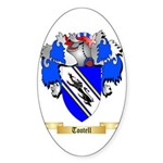 Tootell Sticker (Oval 50 pk)