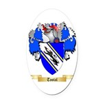 Tootal Oval Car Magnet