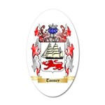 Toomey 20x12 Oval Wall Decal