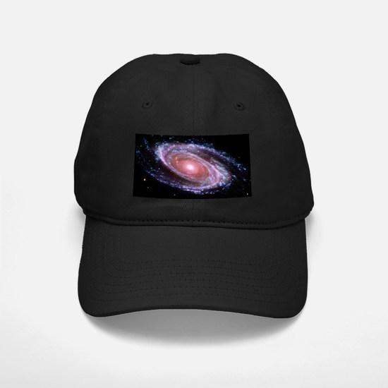 Pink Spiral Galaxy Baseball Hat