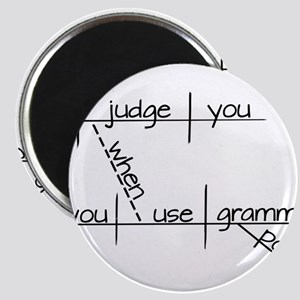 Grammar Black Text Magnets