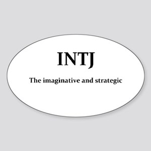 INTJ - The imaginative and strategic Sticker