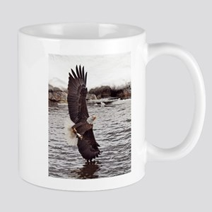 Vertical Eagle Mugs