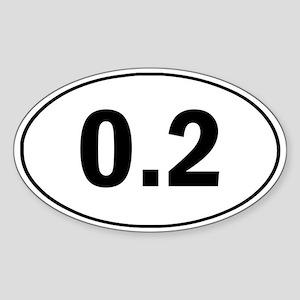 0.2 Running Sticker Funny Sticker