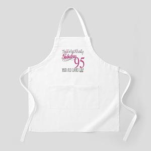 95th Birthday Gifts BBQ Apron