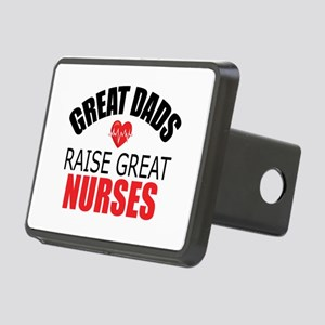 Dad of Nurse Rectangular Hitch Cover