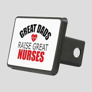 Dad of Nurse Rectangular Hitch Cover