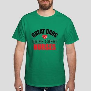 Dad of Nurse Dark T-Shirt