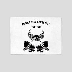 Roller Derby Dude 5'x7'Area Rug