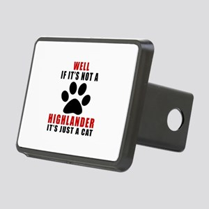 If It's Not Highlander Rectangular Hitch Cover