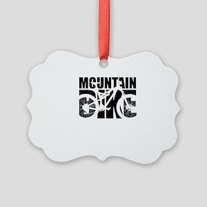 Mountain Bike Picture Ornament