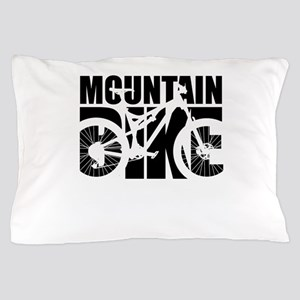 Mountain Bike Pillow Case