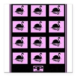 "Square Car Magnet 3"" x 3"""