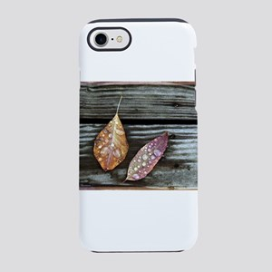 Raindrops on Leaves iPhone 8/7 Tough Case