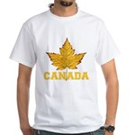 Canada Souvenir Varsity White T-Shirt