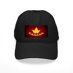 Canada Souvenir Varsity Black Cap