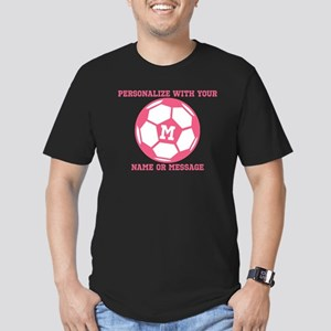 PERSONALIZED Pink Soccer Ball T-Shirt