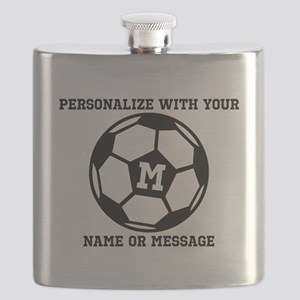 PERSONALIZED Soccer Ball Flask