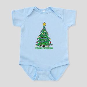 Merry Wheekmas! Guinea Pig Christmas Tree Body Sui