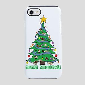 Merry Wheekmas! Guinea Pig Christmas Tree iPhone 8