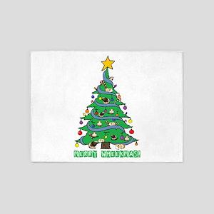 Merry Wheekmas! Guinea Pig Christmas Tree 5'x7'Are