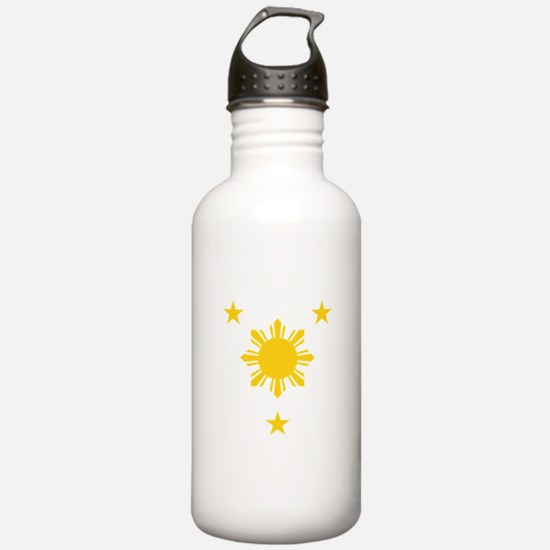 Philippines 3 Star and Water Bottle