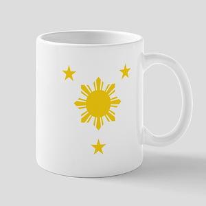 Philippines 3 Star and Sun Mugs