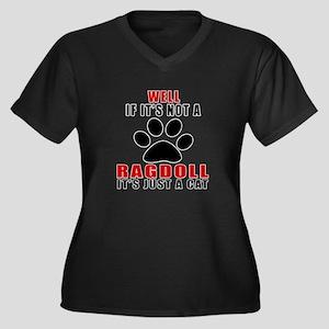 If It's Not Women's Plus Size V-Neck Dark T-Shirt