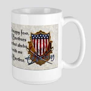 Harvest Moons Army Shield Mugs