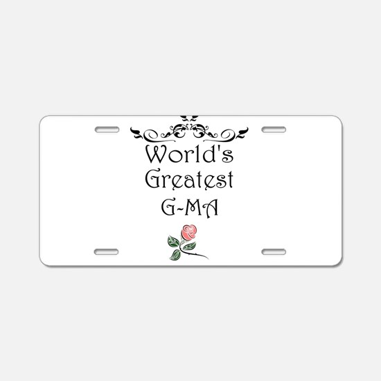 Worlds Greatest GMA Aluminum License Plate