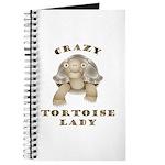 Crazy Tortoise Lady Journal