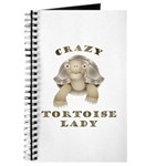 Crazy Tortoise Lady Journal