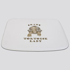 Crazy Tortoise Lady Bathmat
