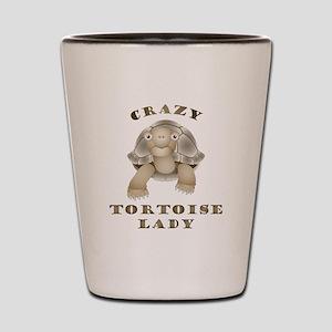 Crazy Tortoise Lady Shot Glass