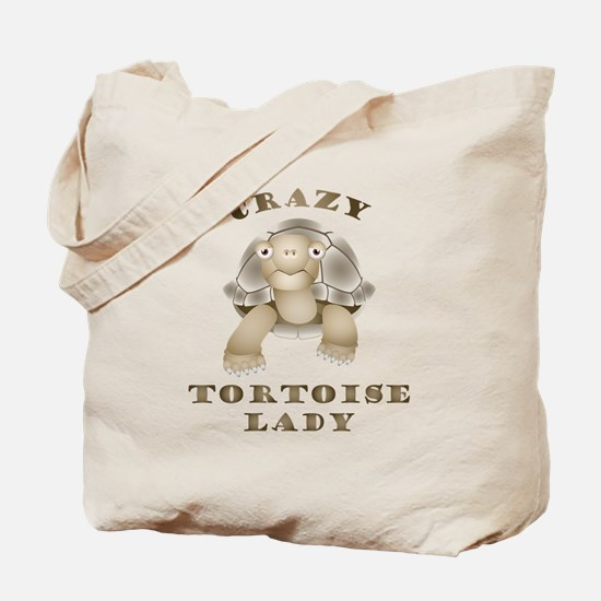 Crazy Tortoise Lady Tote Bag