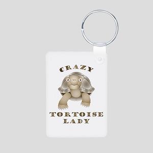 Crazy Tortoise Lady Keychains