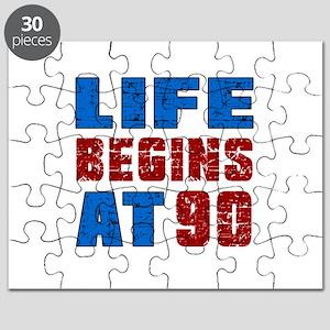 Life Begins At 90 Puzzle