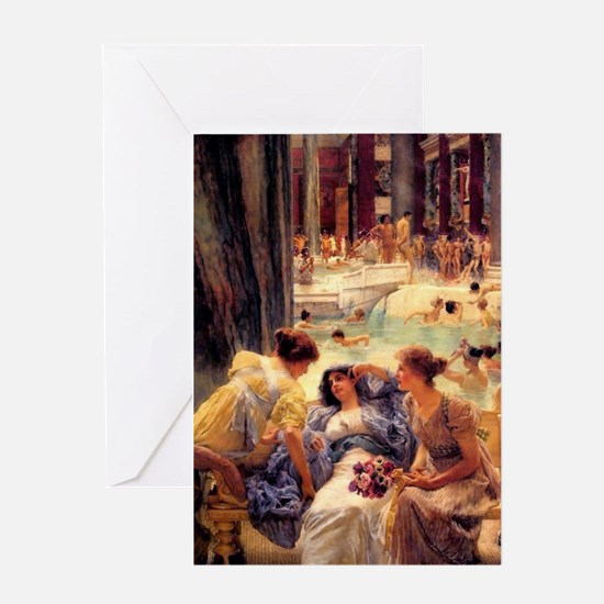 Baths at Caracalla Greeting Cards (pkg 6) Greeting