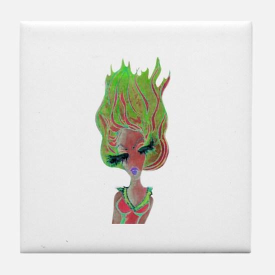 Cool Vuitton Tile Coaster